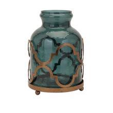 Marla Quadre Foil Oversized Vase