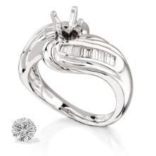 Ring...platinum 11.1 Gram 0.22ct Diamond Si1-si2 G-h