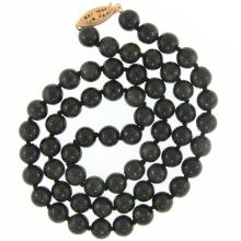 Natural Grey Jade Necklace