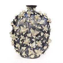 Pewter Garden Jar Vase