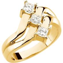 14kt Yellow 5/8 CTW Diamond Right Hand Ring