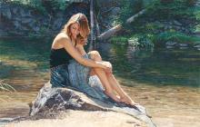 Steve Hanks - Listening To The River