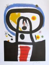 Joan Miro Equinox Limited Edition Facsimile Signed Lithograph
