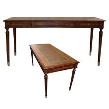 Walnut Reception Desk