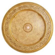 Burl Cream Round Medallion