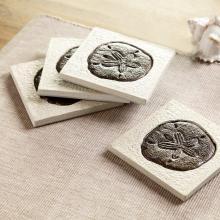 Sandollar Coasters S/4
