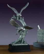 Two Pewter Eagles