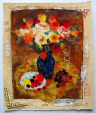 Alexander Wissotzky Summer Fruit Hand Signed Limited Edition Serigraph