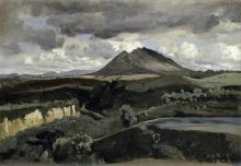 Jean-baptiste-camille Corot - Le Mont Soracte
