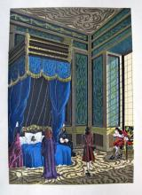 Jean Gradassi Memoirs Of Cardinal Dubois 1950 Color Illustration Limited Edition #11