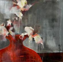 Original-Terri Burris-Red Glow II