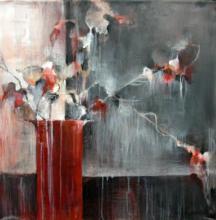 Original-Terri Burris-Red Glow I