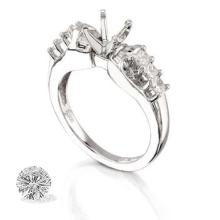 RING...PLATINUM 8.8 GRAM 0.5CT DIAMOND SI1-SI2 G-H