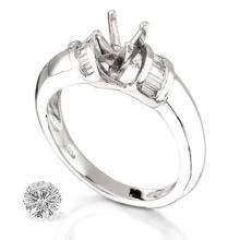 RING...PLATINUM 7.6 GRAM 0.24CT DIAMOND SI1-SI2 G-H