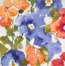 Original-Liz Jardine-Garden Delights II