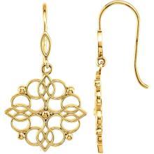 Decorative Dangle Earrings