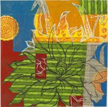 Original-Liz Jardine-Graffiti Floral II
