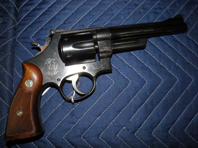 SMITH & WESSON 357 HIGHWAY PATROLMAN