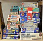16 x Airfix plastic model kits, all boats and