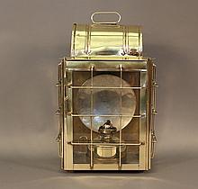 National Marine Lamp Co., Ship's Cabin Lantern
