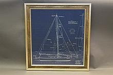John Alden Original yacht Blueprint