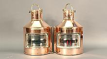 British Ship's Port and Starboard Lanterns