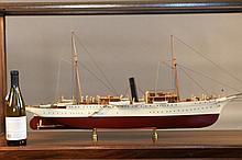 Model of Presidential Steam Yacht Mayflower