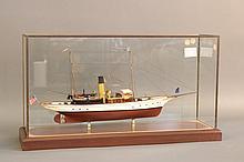Hitchcock Ship Model of Yacht