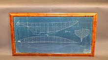 1936 John Alden yacht Blueprint plan