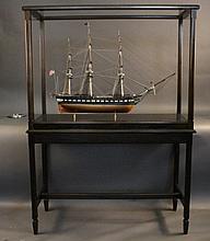 Old Ironsides Ship Model