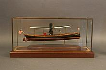 Steam Launch Model by William Hitchcock