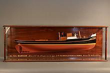 Builder's Model of the Tugboat