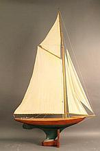 Vintage Pond Yacht Model of Sloop