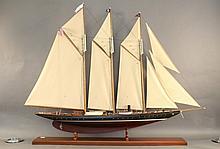 6-Foot Model of the 1904 schooner