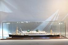 Boucher Model of Passenger Liner