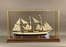Small Harvard Steam Yacht