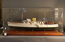 Vosper Yacht Builder's Model of Motor Yacht