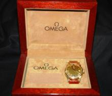 Omega Watch in original Wooden Box (Man's)