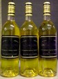 3 Bouteilles GUIRAUD étiquettes fanées, labels faded.  1988