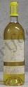 1 Bouteille  YQUEM Etiquette tachée, légèrement fanée, niveau bas goulot.  Label stained, faded, level low neck.  1987