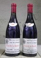 2 Bouteilles CLOS DE LA ROCHE - D.  LAURENT Etiquette légèrement tachée, très légèrement abîmée.  Label lightly stained, slightly damaged.   1999
