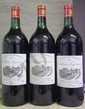 3 Magnums Ch.  SEGONZAC - HAUT MEDOC Niveau bas goulot.  Level low neck.  1983 1983