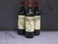 3 Bouteilles CALON SEGUR Etiquettes tachées.  Labels stained.  1990