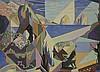 Louis Paul GRAND (né en 1970)    CAPRI   Huile sur toile, signée en bas à droite et titrée sur le châssis   60 x 81 cm