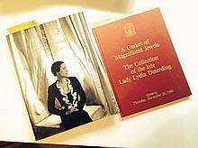 The Jewels of the Duchess of Windsor - Sotheby's - Catalogue de la vente de Genève du 2 et 3 Avril 1987 - on y joint le catalogue de vente de Lady Lydia Deterding - Christies Genève, 20 Novembre 1980