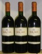 3 Bouteilles SOLAIA  - MARCHESI ANTINORI 1993 2 étiquettes légèrement tachées,1 griffée.1 niveau bas goulot.  2 labels lightly stained,  1 scratched, 1 level low neck.