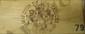 12 BOUTEILLES YQUEM Caisse bois d'origine, niveaux légèrement bas. Original wood case, levels very top shoulder. 1979