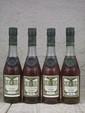 4 3cl. COGNAC A.E. DOR - COLLECTION DE 4 FLACONS  Composition : 1 A.E.DOR Fine Champagne cuvée RARE, 1 A.E. DOR Cognac Napoléon, 1 A.E. DOR Fine Champagne X.O.,  A.E. DOR Grand Champagne RESERVE n° 7