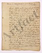François-René de CHATEAUBRIAND (1768-1848). MANUSCRIT (copie de la main de Trophime-Gérard de LALLY-TOLENDAL), Discours de Mr de Chateaubriant pour sa réception à l'Académie ; cahier de 12 pages in-4.