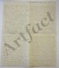 Jeanne Louise Genet, Madame CAMPAN. L.A., 28 décembre 1800, [au comte Trophime-Gérard de LALLY-TOLENDAL] ; 8 pages petit in-4.
